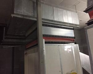 空调管道内部图